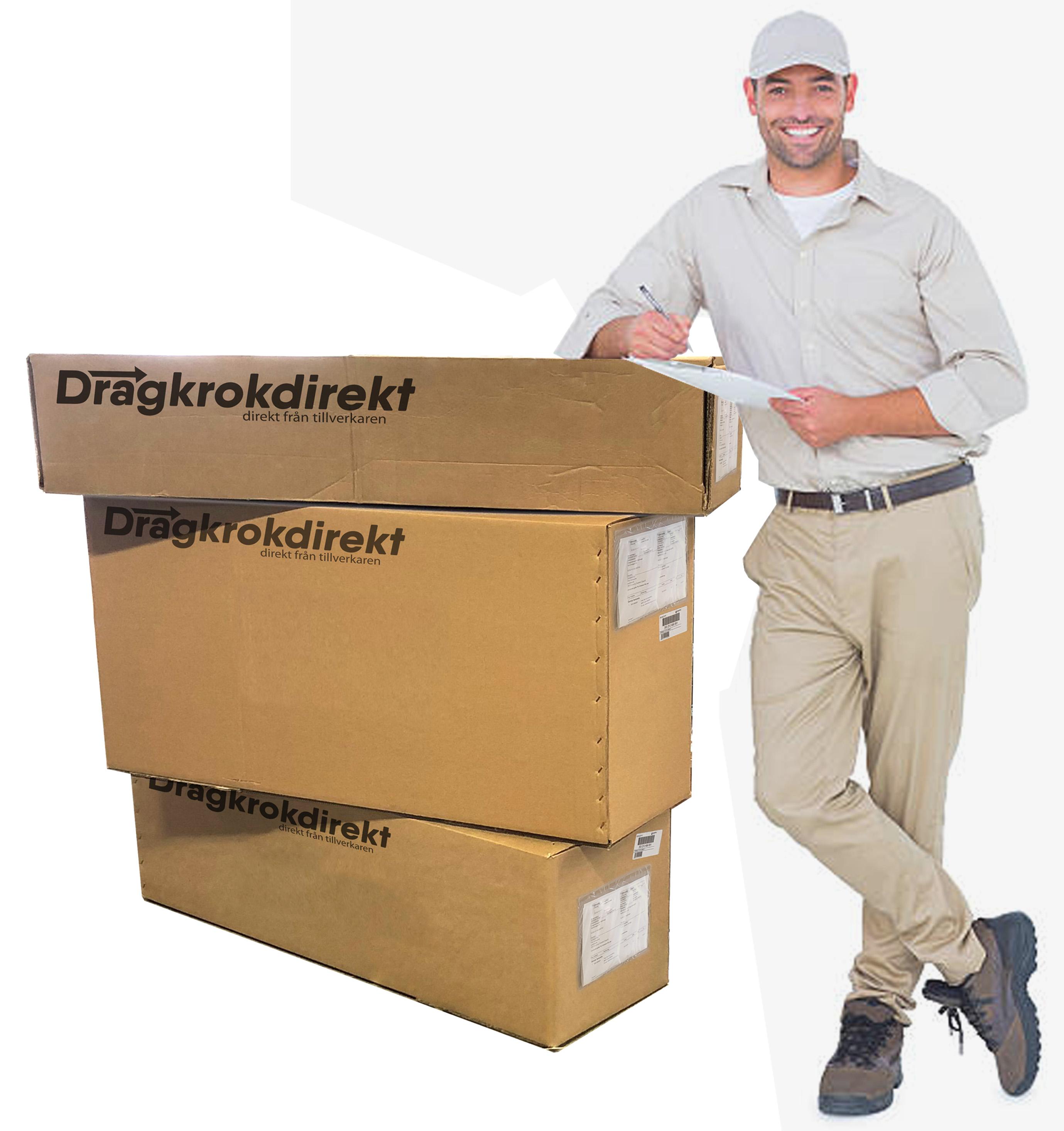 Paketering dragkrokar